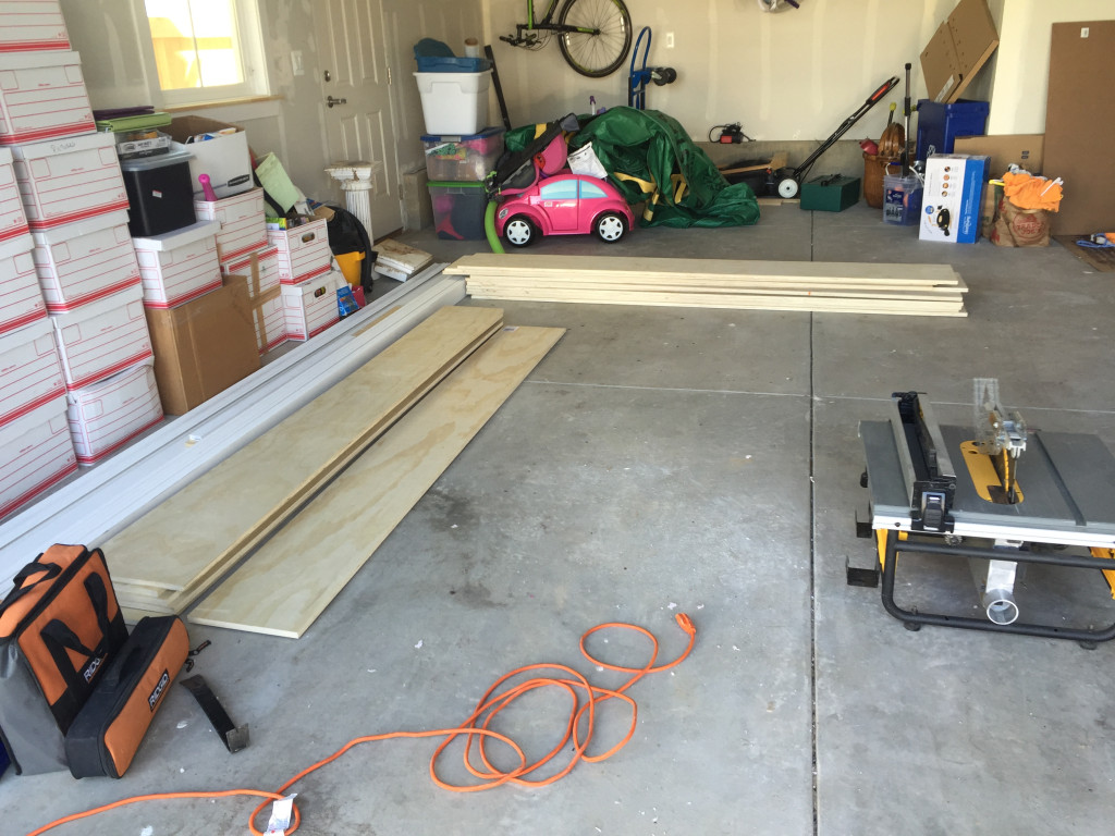 Lumber for Library